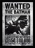 """DC Comics Batman Arkham Origins 30 X 40 cm """"Wanted"""" Framed Print"""