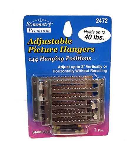 Adjustable Picture Hangers, Case of 48