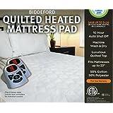 Biddeford Heated Quilted Mattress Pad - King