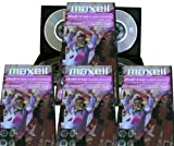 Maxell mini DVD+RW blank rewritable media in slim Case (16 discs of 8cm DVD+RW) for DVD camcorders or general data storag