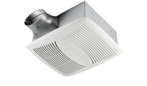 Amazon Com Broan Nutone Ez80n Ezfit Bathroom Exhaust Fan 80 Cfm 1 0 Sones 13 X 14 3 8 In White 1 Per Case Clothing