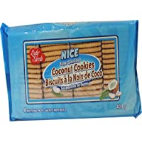 Lady Sarah Individually Wrapped Nice Sugar Sprinkled Coconut Cookies 4.8kg (Case of 12 x 400g)