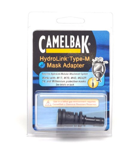 Camelbak Protective Mask Adapter, Type M (Canadian C4) 90522-A (C4 Mask Gas)