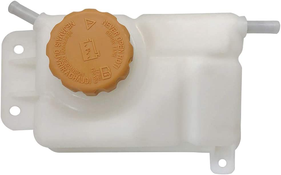 INEEDUP 603-449 Fits for Chevy Pontiac Coolant Reservoir Bottle Fluid Reservoir Coolant Overflow Tank with Cap