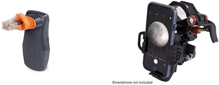 Celestron 93973 Skyportal Wifi Module, Black &NexYZ 3-Axis Universal Smartphone Adapter