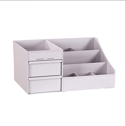 Cajón Tipo Escritorio cosmético Multilayer Storage Box Shelf Organice los estantes de Las Cosas Clasificando Cosas