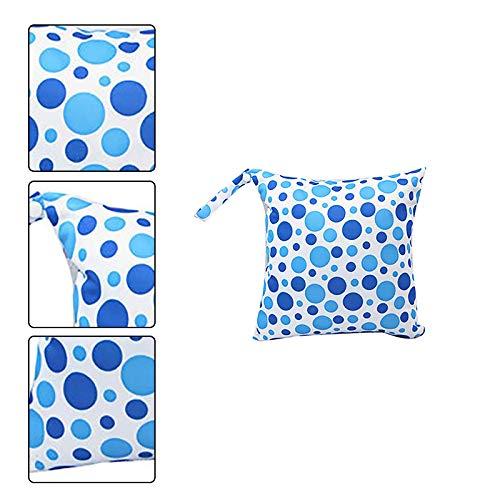 Unterw/äschetasche Toilettenartikel Reisen Blau Wisilan wasserdichte Polyester-Stofftasche zum Aufh/ängen von Windeln f/ür Babys blau - G4CSV8O5916OI315UUAYI nasse Windeln