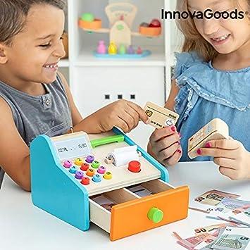 InnovaGoods Caja Registradora de Madera con Accesorios Kashy (IGS ...