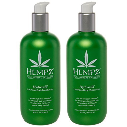 Hempz Hydrosilk Luxurious Body Moisturizer Daily Lotion Hemp
