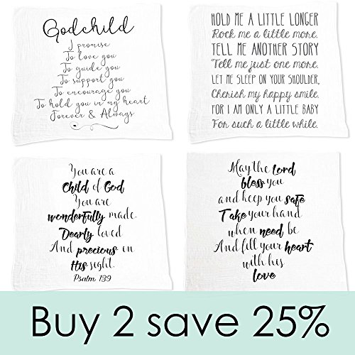 Godchild gift quote baby swaddle blanket christening gift import godchild gift quote baby swaddle blanket christening gift baptism gift for godson goddaughter muslin thecheapjerseys Choice Image