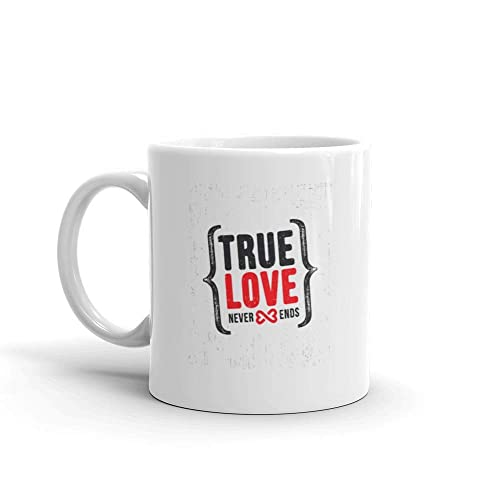Amazoncom True Love Never Ends Inspiring Motivation Quote Water