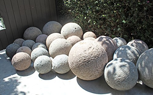 Garden Stone Spheres by Mix Furniture