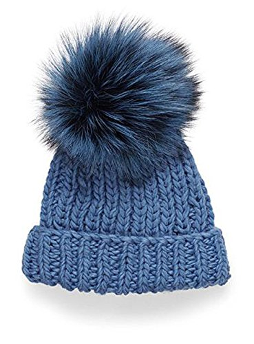 Chunky Knit Silver Fox Dyed (Harbor -