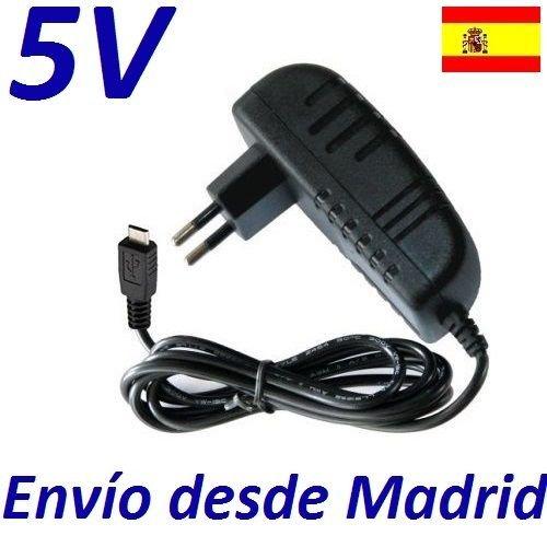 Cargador Corriente 5V Reemplazo Tablet Archos Arnova GBook eReader ...