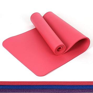 EYCFSJ 10 Mm Extra Thick Principiante Estera De Yoga ...