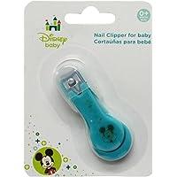 Disney Baby Mickey Cortauñas con Tapa, azul