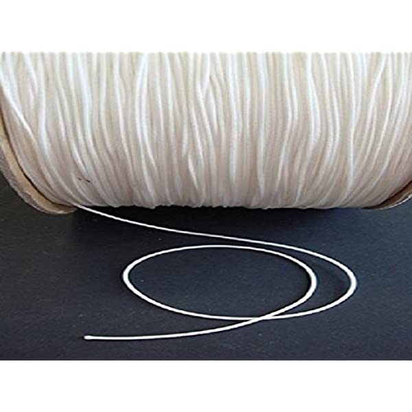 Roman Shades And More 100 Feet 1.6 MM White Lift Cord For Blinds