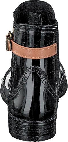 GOSCH SHOES - Botas de agua Mujer black-cognac