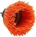 Dico 541-780-21/2 Nyalox Cup Brush 21/2-Inch Orange 120 Grit