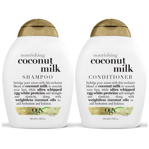 13 Ounce Shampoo (OGX Nourishing Coconut Milk Shampoo & Conditioner (13 Ounce))