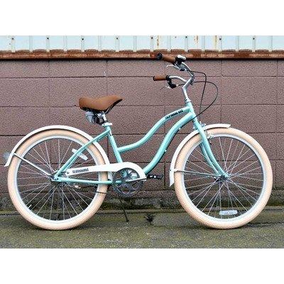 ビーチクルーザー サンタクルーズ サックス ブルー 自転車 BEACH CRUISER SANTA CRUZ SAX BLUE B01LW72PP5