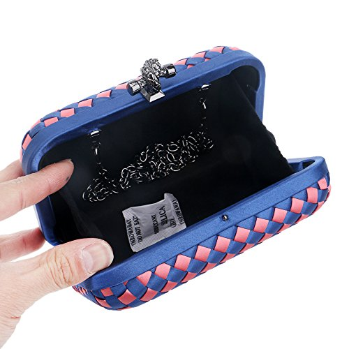 And Appointment Europe Clutch Weaving Wedding J Bride America Package C Simple Temperament Lady Fashion Evening Bridesmaid JAWHG Women's qwzYFF