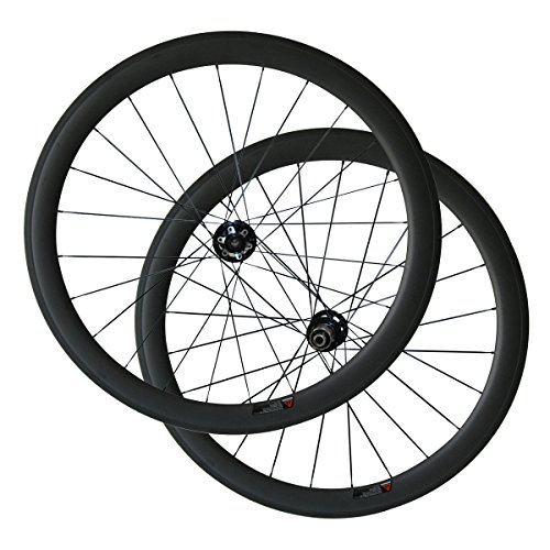 LOLTRA 50mm Clincher Cyclocross Bike Wheels Disc Brake Carbon Wheelset Cyclocross Carbon