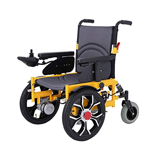 Price comparison product image Electric Wheelchair,  Predecessor Damping Folding Portable Smart Wheelchair,  Disabled Four-Wheeled Scooter,  Load 100kg Easy to use