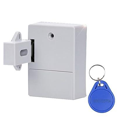 IPOTCH Cerradura Electrónica de Puerta Cajón Botón sin Llave de Sensor de Movimiento