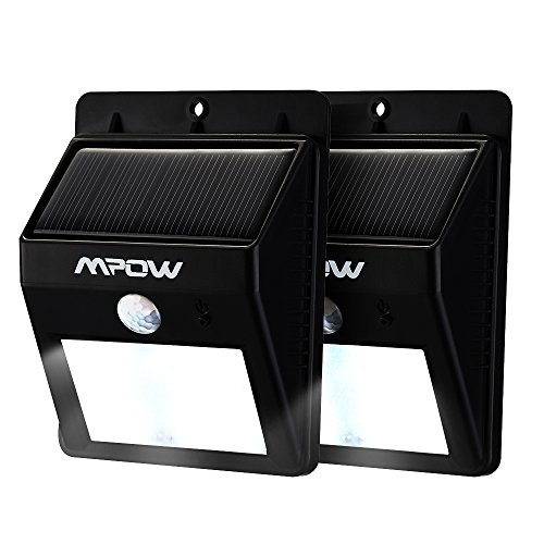 Mpow 2-Pack Bright Solar Power Outdoor LED Light