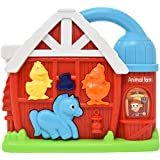 Number 1 in Gadgets Sing Along Farm Animal Game - Spin and Learn Interactive Light Up Baby Sound Toy with Infant Shaped Music Color Buttons, Barn Fun Tablet for Kids Toddlers and Babies