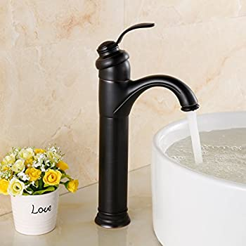 yodel bathroom vessel sink faucet oil rubbed bronze