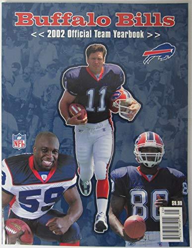 2002 Buffalo Bills NFL Football Official Team Yearbook 145560