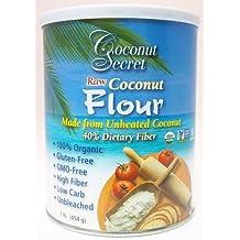 Coconut Secret Coconut Flour, Raw OG1 16 oz. (Pack of 12)