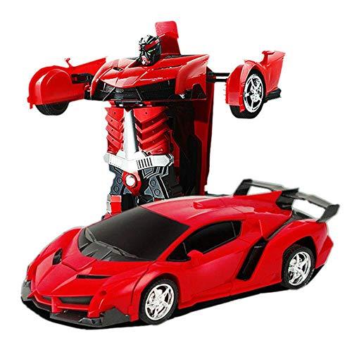 Remote Control Car, 1:18 Kids Toys Transformers Robot RC Car 360