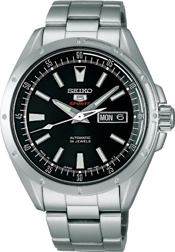(Seiko Mechanical Self-Winding (with manual winding) 5Sports SARZ005 Men's Watch Japan import)