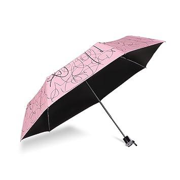paraguas Creativa paraguas de la lluvia paraguas paraguas plegable UV del sol o sol de doble