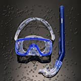 ARINO Diving Protective Goggle Breathing Tube Snorkeling Mask diving Set for Children Teenager