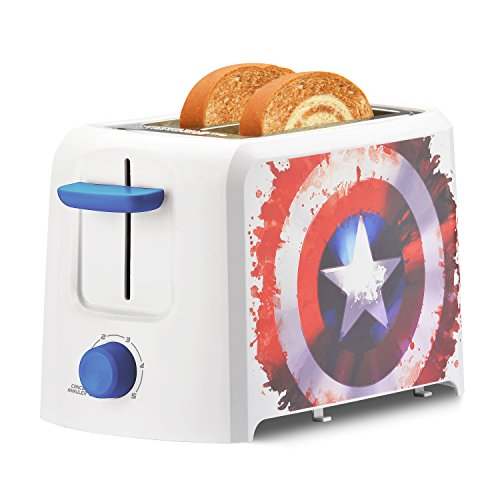 Select Brands Mva-123CN Captain America Single Serve Coffee Maker