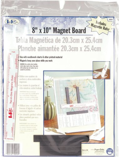 Dritz Loran 8x10 Magnet Board-Ruler MB-8R