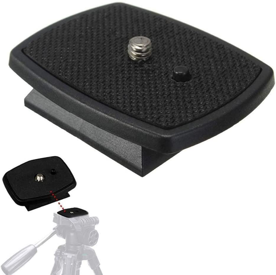 MeterMall New Tr Quick Release Plate Screw Adapter Mount Head for DSLR SLR Digital Camera