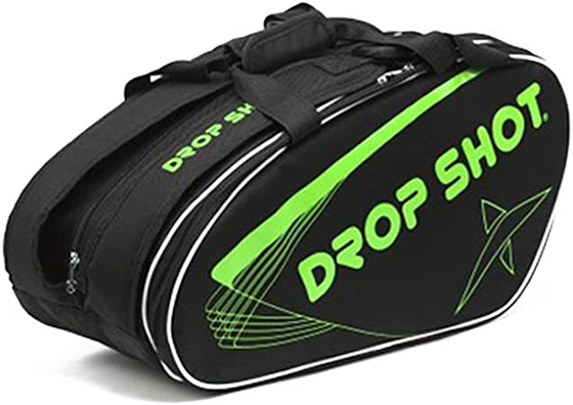 Amazon.com: DROP SHOT Unisexs Padel Bag, Draco Green, One ...