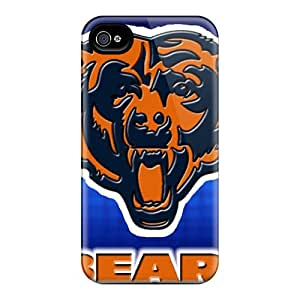 New Diy Design Chicago Bears For Iphone 4/4s Cases Comfortable For Lovers And Friends For Christmas Gifts