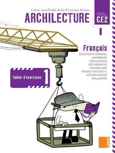Archilecture CE2 1 DVD - Colette Aoun,Aldia Benito,Laurence Pierson