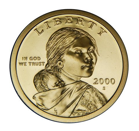 2000 S Sacagawea Native American Proof Dollar PF1