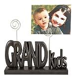Fashioncraft 12858 Grandkids Photo Holder, Black