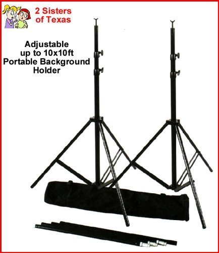 (RPS Studio 10 x 10 Feet Portable Background Stand with Bag)