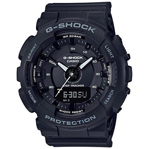 Casio GMAS130-1A Black 49mm Resin G-Shock Unisex Watch