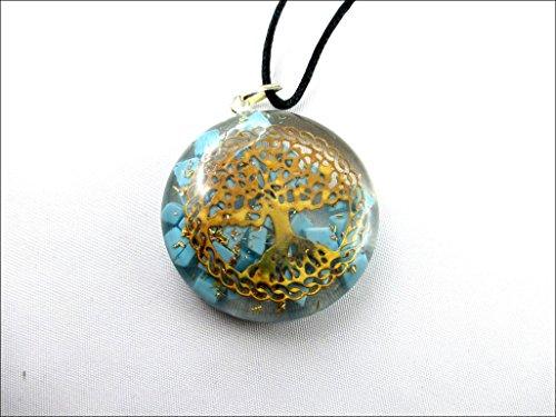 Orgone Pendant Beautiful Turquoise Meditation
