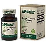Standard Process - Black Currant Seed Oil - Gamma-Linoleic Acid Supplement, Supports Healthy Skin, Normal Blood Flow, Tissue Repair, and Immune System Function, Gluten Free - 60 Perles